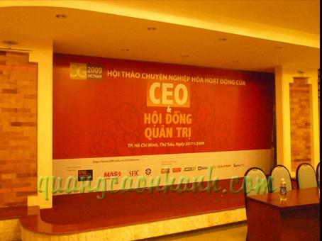Backdrop hoi nghi CEO