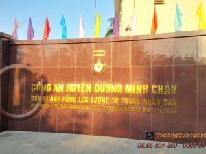 Thi công quảng cáo tại Tây Ninh